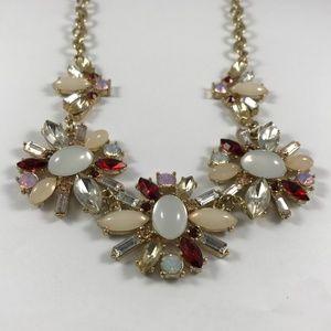 Vintage Rhinestone Necklace, Vintage Jewelry